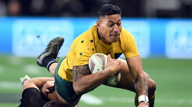 Folau says he does not support gay marriage
