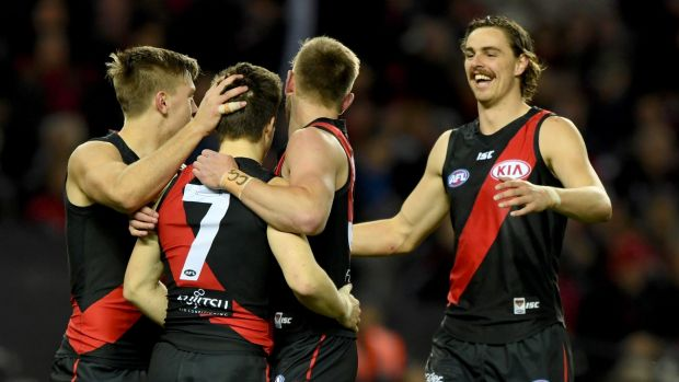 Nomination: The Essendonians president Peter Hughes is pushing for a seat on the Bombers' board.