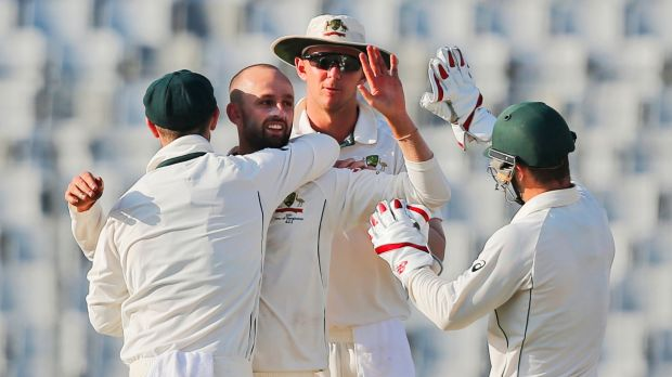 Bangladesh 190-5 at tea against Australia