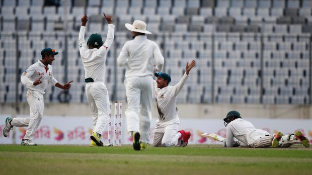 Bangladesh spinners spoil strong day for Australia
