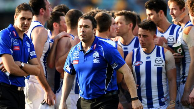 Brad Scott signs two-year coaching extension with North Melbourne