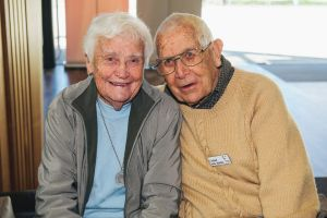 Marge, and Mal Grimley, of Page.