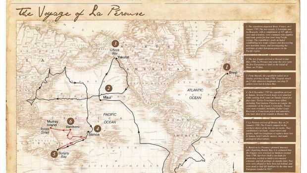 New clue may reveal the fate of famous French explorer Comte de La P?rouse.