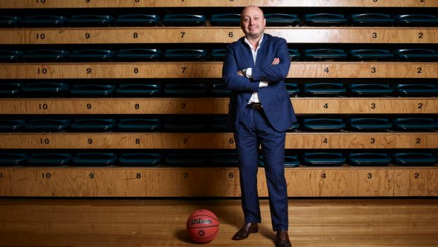 Larry Kestelman is on a mission to turn the National Basketball League into a going concern.