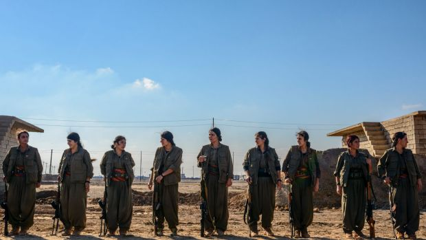 Revolutionary women fighters: 'Nothing can be a distraction, especially feelings,' says Swedish-born Kurdish guerrilla ...