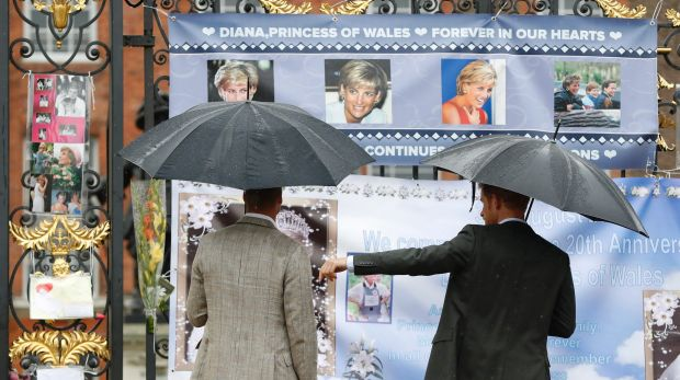 Thursday marks the 20th anniversary of Diana's death.