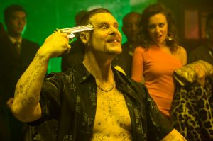 Aaron Jeffery plays Chopper Read in the latest <i>Underbelly</i> production.