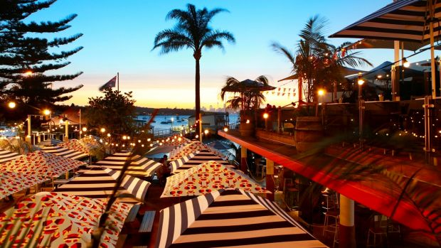 Families can enjoy a three-course lunch with dad at Watsons Bay Boutique Hotel.