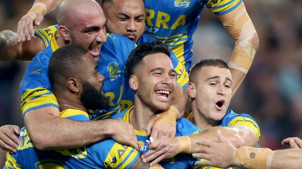 Yet to find a sponsor, the Parramatta Eels are open to offers.