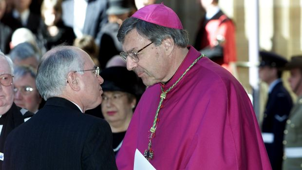Archbishop George Pell has been charged with sexual offences.