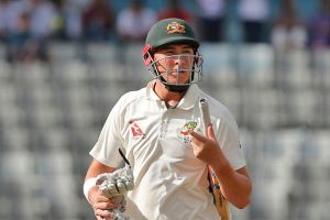 Steve Smith had to console a 'disappointed' Matthew Renshaw after the 21-year-old learned of his Ashes fate.