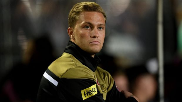 Big deal: Matt Moylan is excited about a new opportunity at Cronulla.