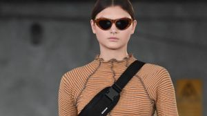 Bumbags were a key trend at the Garage Runways at Melbourne Fashion Week.