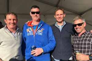 David Grimmond, of Pearce, Andrew Smith, of Farrer, Stephen Larkham, of Forrest, and Daniel Atkins, of Florey.