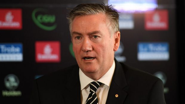 Eddie McGuire and Caroline Wilson often can't remember if they're friends or enemies, but Wilson remembers that Eddie ...