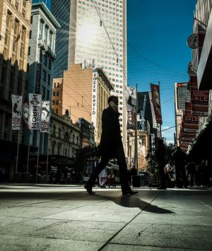 Bourke Street's mall attracts some of the highest per square metre rental rates in Australia.