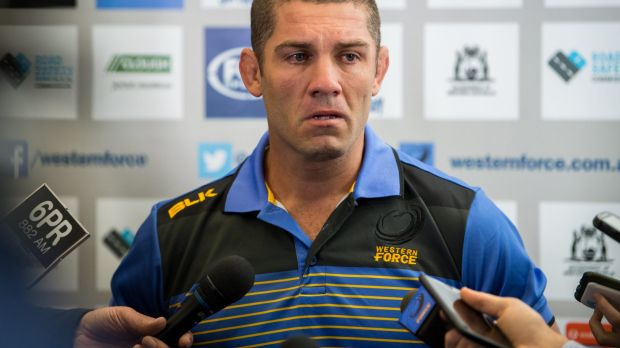 Disappointed: former Force skipper Matt Hodgson.