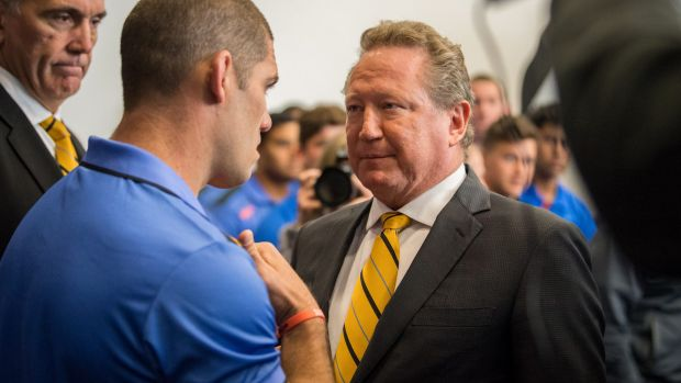 Ambitious: Andrew Forrest's new rugby competition has yet to take off.