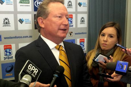 Andrew Forrest is launching a new rugby union competition.