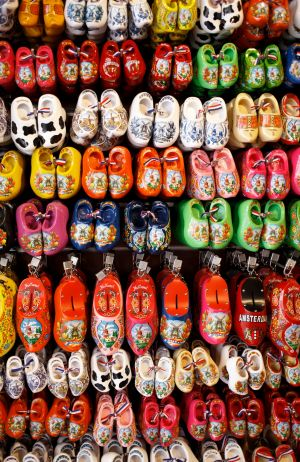Don't forget to pick up a pair of clogs.