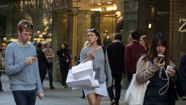 Big brands are turning away from Pitt Street mall and looking to George Street when considering expansion.