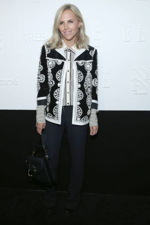 Designer Tory Burch attends the ELLE, E! and IMG New York Fashion Week kick-off party.