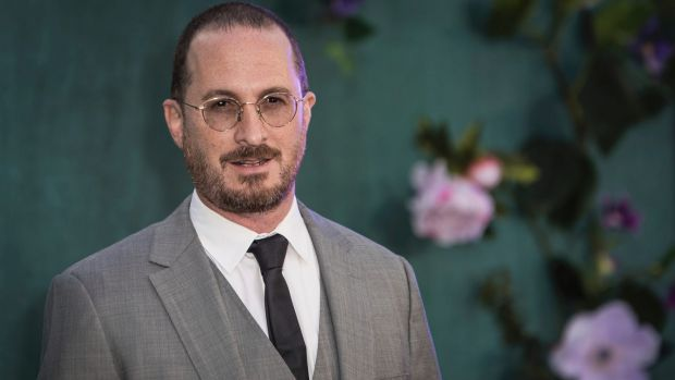 Director Darren Aronofsky at the premiere of the film Mother! in London.