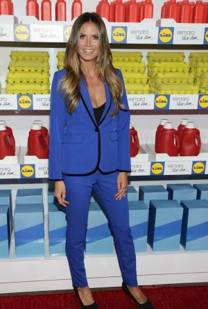 Heidi Klum attends the Esmara by Heidi Klum Lidl Fashion Presentation held at Art Beam.