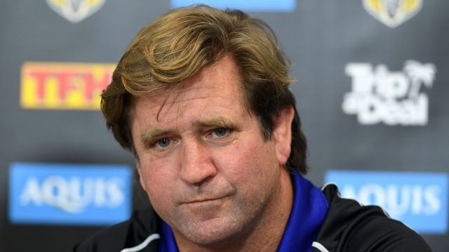 Family favourite: Des Hasler should find out whether he will continue to coach the Canterbury Bulldogs over the next ...