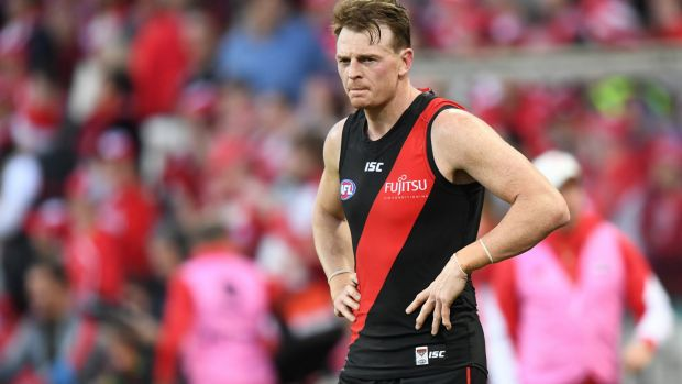 Big fish: Save for Brendon Goddard, it's been a long time since Essendon have landed a major signing in a trade or free ...