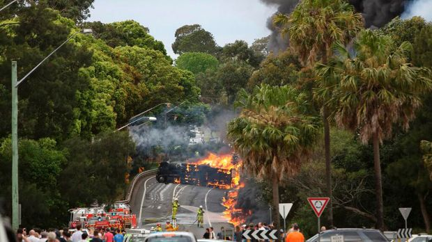 The deadly Mona Vale crash on Sydney's Northern Beaches in 2013.