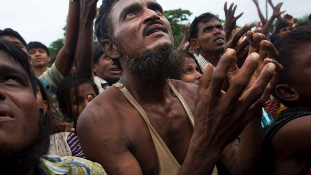 Rohingya Muslims injured by landmines during attempted escapes to Banladesh