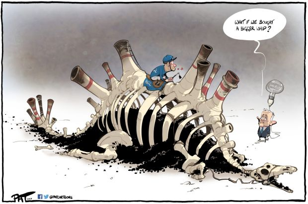 The Canberra Times editorial cartoon for Monday, September 11.