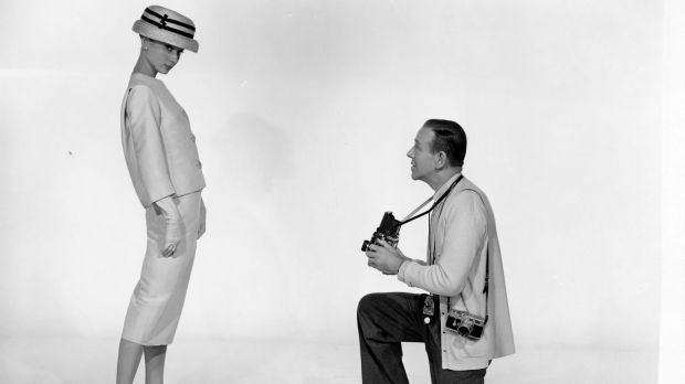 Audrey Hepburn and Fred Astaire for Funny Face, dressed by Edith Head.