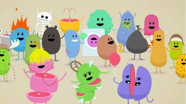 Animated figures from the Dumb Ways to Die campaign.
