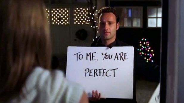 Maybe romantic in 'Love Actually', definitely creepy in real life.