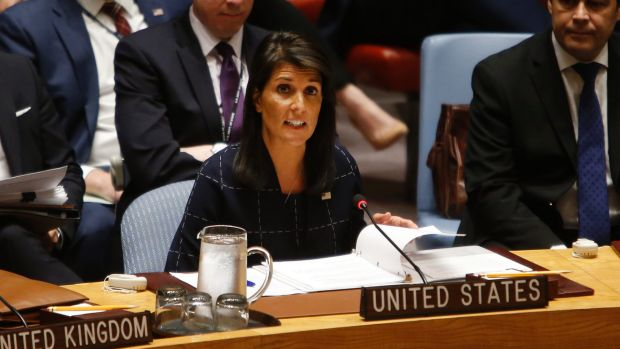 United Nations options exhausted on Korean Peninsula issue: Haley
