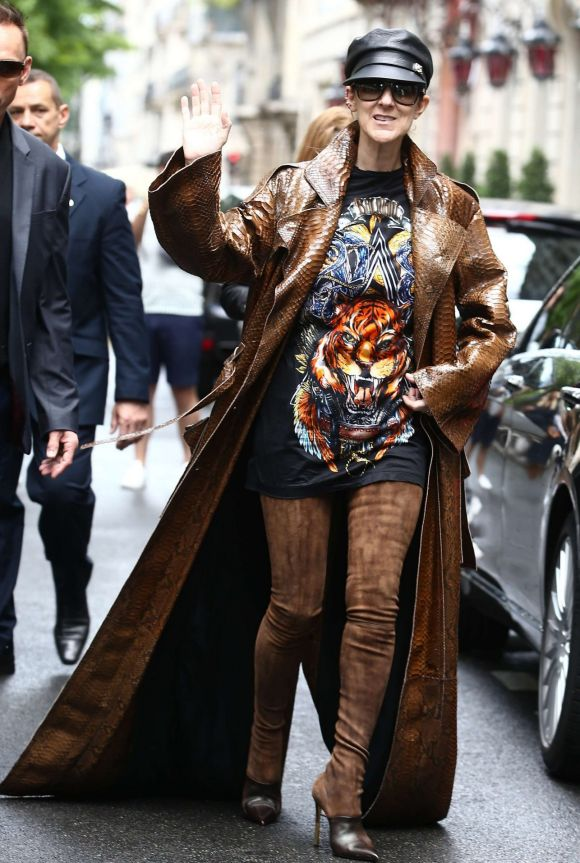 September: If Kaia Gerber owned the runway, then Celine Dion owned everything else at Fashion Month, with the singer ...