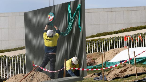 Politicians who voted for Parliament House fence alarmed now they ... - The Sydney Morning Herald