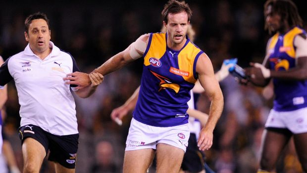 Brown says he was on the cusp of re-signing with the club when he was axed.