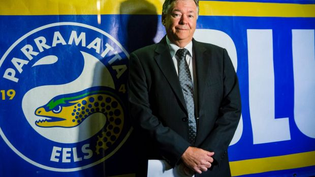 Crucial AGM: Eels chairman Max Donnelly is gearing up for Wednesday's meeting.