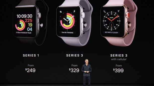 Jeff Williams, chief operating officer, speaks about the new Apple Watch.