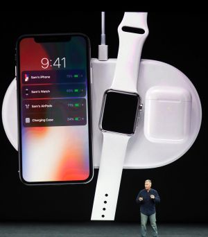 Apple's upcoming wireless charger will be able to supply a phone, watch and AirPods with power simultaneously.