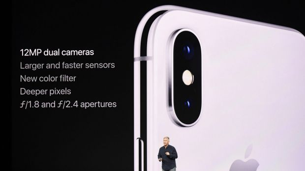The rear cameras on the iPhone X have been designed for augmented reality apps.