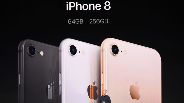 The iPhone 8 is more of a direct follow-up to last year's 7.
