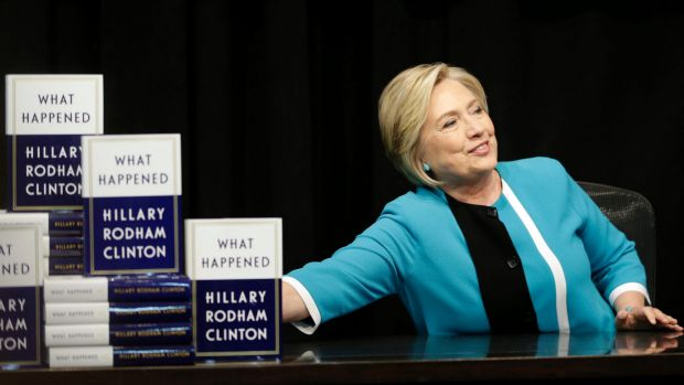 42 reviews of the first line of the first chapter of Hillary Clinton's 'What Happened'