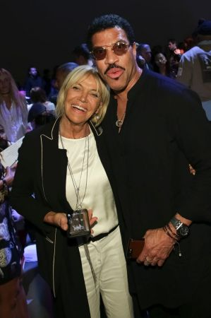Lionel Richie attends the Jeremy Scott 2018 Spring/Summer Presentation.