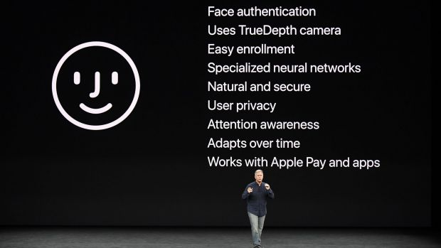 Phil Schiller, senior vice-president of worldwide marketing at Apple, talks about Face ID.