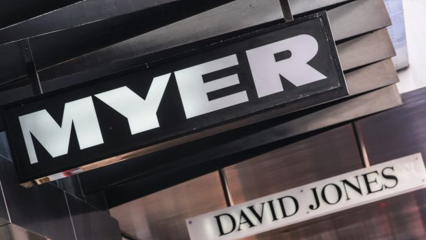Myer to shut three stores on slow sales