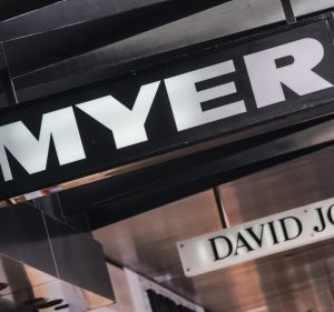 Myer investors pushed its share price to an all-time low.